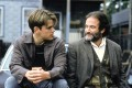 Matt Damon as Will Hunting and Robin Williams as Sean Maguire in a scene from Good Will Hunting. Photo: Alamy