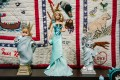 Souvenirs, toys and artworks on display in the Statue of Liberty Museum on Liberty Island, New York, the US. Photo: EPA