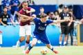 Leicester City v Aston Villa during the Main's Group B match of the Hong Kong Citi Soccer Sevens 2019. Photos: Eurasia Sport Images