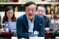 """Huawei founder Ren Zhengfei said the company would be """"fine"""" even if it cannot buy chips from US suppliers. Photo: AFP"""