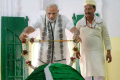 Prime Minister Narendra Modi paid a visit to Sant Kabir's tomb in June 2018 to commemorate the 500th anniversary of his death. Photo: DNA India