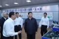 President Xi Jinping visits China's rare earths mining base in Jiangxi province on Monday. Photo: Xinhua