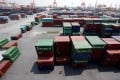 Shipping containers are seen at a port in Haiphong, Vietnam. More Chinese companies are fleeing to Southeast Asia to avoid trade war tariffs, creating opportunities for Chinese logistics companies helping them to move. Photo: Reuters