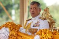 """Thai King Maha Vajiralongkorn has told members of parliament to """"think with care and reason in accordance with the rule of law and morality"""". Photo: EPA"""