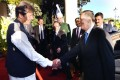 Pakistani Prime Minister Imran Khan (and Chinese Vice-President Wang Qishan in Islamabad. Photo: AFP