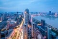 China's Shenzhen city in the night. Photo: Shutterstock