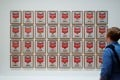Campbell's Soup Cans (1962) by Andy Warhol at MoMA in New York. The museum has two other stores in Asia, in Tokyo and Kyoto. Photo: Alamy