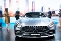 A Mercedes-AMG GT Coupe is displayed at the International Auto Show in Shenzhen, China, on Saturday. The city's government said last week it will increase the number of licence plates to boost car sales in the city. Photo: Shutterstock
