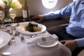 Whether it's a three-Michelin-star dining experience or a McDonald's happy meal, there's no limit to what food you can order on a private jet. Photo: Alamy