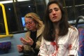 The two women were beaten in a homophobic attack on a London bus. Photo: Facebook