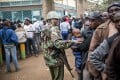Huawei offers a 'safe city' surveillance programme in Kenya. File photo: AFP
