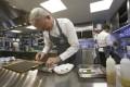 Chef Richard Ekkebus at Amber in the Landmark Mandarin Oriental. Photo: Jonathan Wong