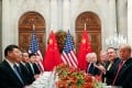 Chinese President Xi Jinping and US President Donald Trump last met in Argentina in December on the sidelines of the G20 summit. Photo: Reuters