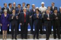 World leaders, including China's President Xi Jinping and US President Donald Trump, at last year's G20 summit in Argentina. Photo: AP