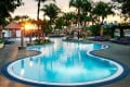 The swimming pool at the luxury hotel, Le Méridien Kuala Lumpur, is the perfect place to unwind.