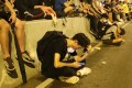 Smartphones running apps such as Telegram have offered protesters a way to communicate with each other that was not as prevalent under 2014's umbrella movement. Photo: Edmond So