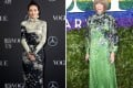 Zhang Ziyi and Anna Wintour both in Givenchy.