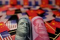 The US fell to the sixth largest foreign investor in China in April from the third largest in March, according to the data. Photo: Reuters