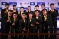 Members of the Thai Wild Boars football team. Photo: EPA-EFE