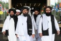 A Taliban delegation led by Abdul Ghani Baradar (centre) visited China recently, according to Beijing. Photo: Reuters