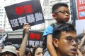 For some Hongkongers, the protests against the proposed extradition amendment and the chief executive have been a family affair. Photo: Edmond So