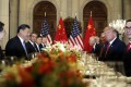 Xi Jinping and Donald Trump may hold formal negotiations over dinner in Osaka this week, as they did in Argentina at the last G20 summit in Buenos Aires. Photo: AP