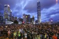 The Hong Kong protesters' audacity – in particular their open defiance of the city's ultimate political masters in Beijing – has gained them widespread praise. Photo: Dickson Lee