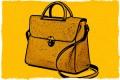 A handbag.