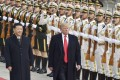 Chinese President Xi Jinping and US President Donald Trump are expected to meet for the first time since December at the G20 summit next week in Japan. Photo: Kyodo