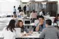 Co-working space at Leighton Centre in Hong Kong operated by theDesk. The company's CEO said that operators are likely to increase rents as the industry undergoes a wave of consolidation. Photo: Handout