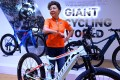 Bonnie Tu, chairwoman of Giant, says e-bikes might soon account for a third of the group's revenues. Photo: AFP