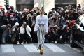 With so many photographers looking to capture the action at fashion weeks, it has become a ruthlessly competitive scene. Photo: AFP