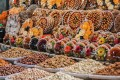 GUM Market, Armenia's biggest fresh food market, is well known for its dried fruit, sujukh and basturma, slices of savoury air-dried beef. Photo: Shutterstock