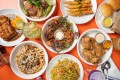 A selection of dishes from Ma'am Sir, a Filipino restaurant in Los Angeles. Photo: Ma'am Sir