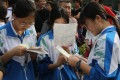 Students make last-minute preparations for a gaokao exam in Beijing earlier this month. Photo: Simon Song