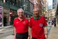 Simon Clennell and Gabriel Tse of the Hong Kong Welsh Male Voice Choir, which is heading to Wales to perform at the Llangollen International Eisteddfod. Photo: Juliette Wu