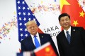 US President Donald Trump and Chinese leader Xi Jinping agreed to restart trade talks during their meeting in Osaka on Saturday. Photo: AFP