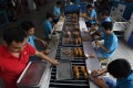 Wang Jie said his Yintong Shoes factory in Dongguan has continued to lose orders from the US in recent months. Photo: AFP