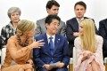 Ivanka Trump, right, with other world leaders at the G20 summit in Osaka, Japan. Photo: EPA