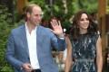 Prince William and the Duchess of Cambridge. Photo: EPA