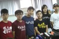 Student Union leaders at a Hong Kong Federation of Students press conference on Friday. Photo: Winson Wong