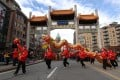Dragon dancers take part in the Lunar New Year parade in Vancouver's Chinatown in 2014. The event is organised each year by the Chinese Benevolent Association of Vancouver. Photo: Xinhua