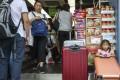 Mainland tourists shopping in Sheung Shui. Photo: Winson Wong