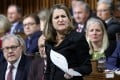 Canada's foreign minister, Chrystia Freeland, criticised sacked former ambassador to China John McCallum for telling Beijing its policies would benefit Justin Trudeau's hardline rivals in the upcoming Canadian election. Photo: Reuters