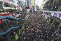 Protesters march against the extradition bill in Hong Kong. Photo: SCMP/Dickson Lee