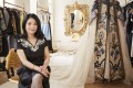 Guo Pei, the Chinese fashion designer known internationally for designing celebrity Rihanna's golden Met Gala dress in 2015, is working with the auction house Sotheby's in London and New York. Photo: Chris Floyd/Sotheby's