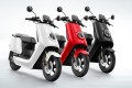 Electric scooters from Chinese start-up Niu Technologies. Photo: Handout