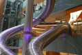 Singapore's Changi Airport offers two slides for passengers to use – one in Terminal 4, and another in Terminal 3. Photo: Luxurylaunches