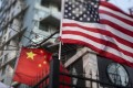 BlackRock Investment Institute says the US-China trade war is affecting confidence in terms of corporate capital expenditure, manufacturing production and growth globally. Photo: AFP