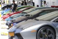 The number of Asia-Pacific family offices rose 44 per cent during the last two years, according to Campden Research. A selection of supercars, traditional symbols of wealth, are displayed during Sino Group's Gold Coast Motor Festival in Hong Kong on November 10, 2017. Photo: Nora Tam